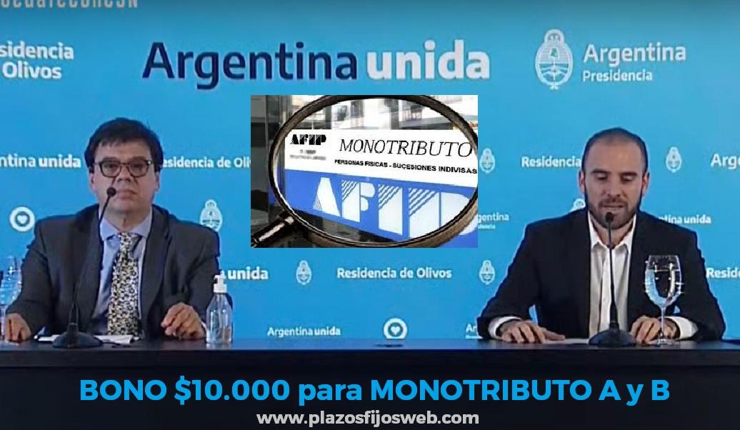 bono monotributistas