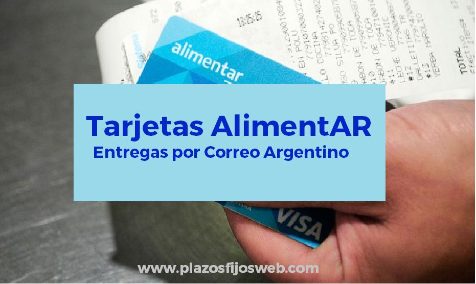 coronavirus tarjetas alimentar correo argentino