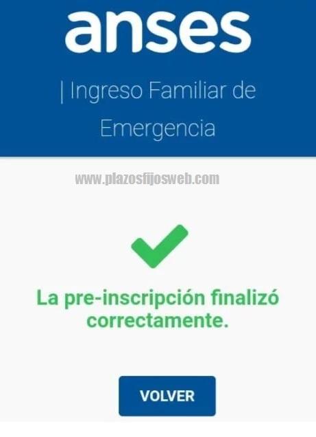 formulario ife anses celular