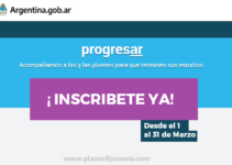 inscripcion becas progresar 2020