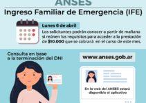 ingreso familiar emergencia seleccionados