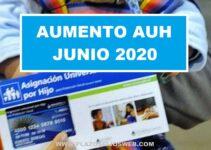 aumento auh junio 2020