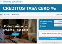 credito tasa cero paso a paso