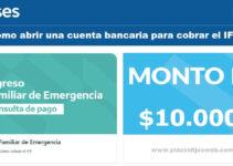 Como abrir una cuenta bancaria para cobrar el IFE