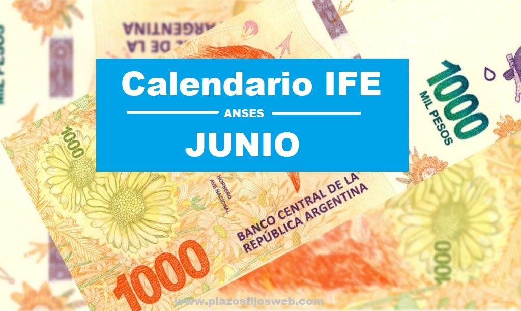 calendario ife junio fechas