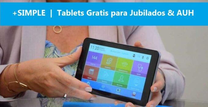 +simple tablet gobierno gratis