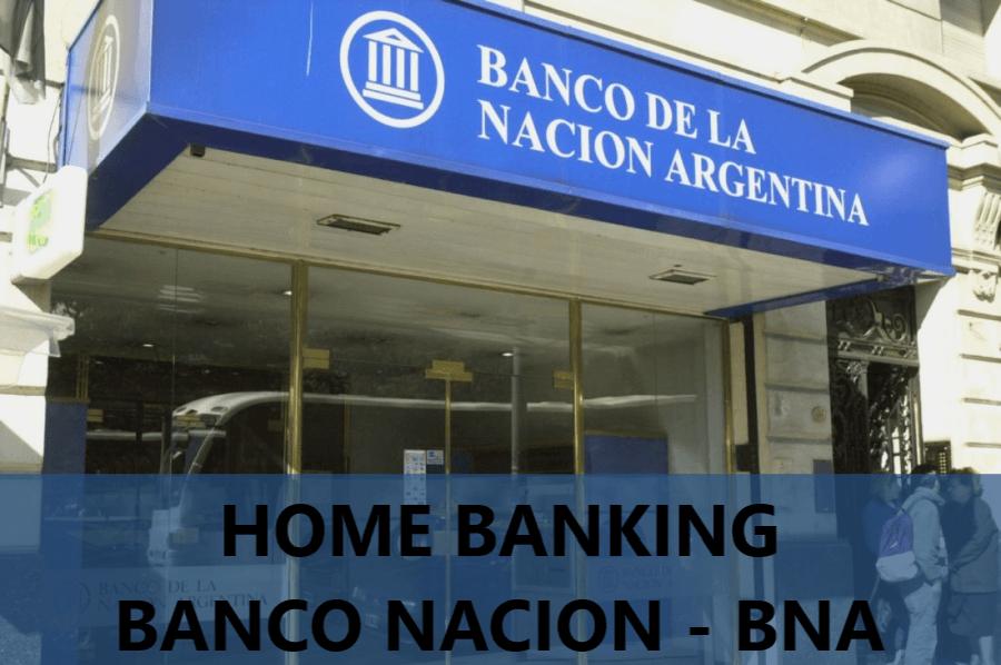 Home Banking Banco Nacion Argentina