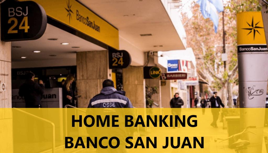 Home Banking Banco San Juan