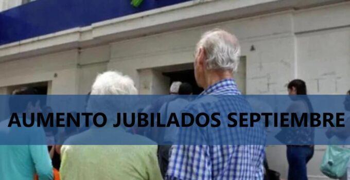 aumento jubilaciones septiembre