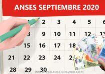 calendario cobros anses septiembre 2020