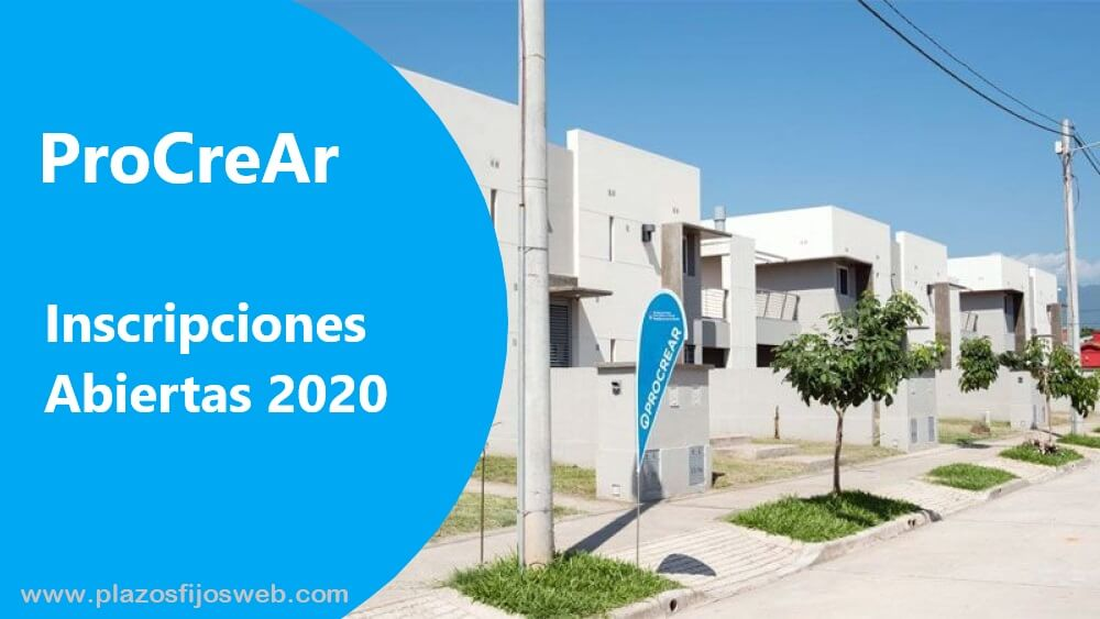 procrear 2020 inscripciones