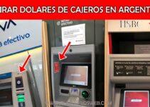 Retirar dolares cajeros automaticos argentina