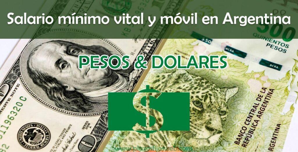 Salario minimo vital y movil en Argentina