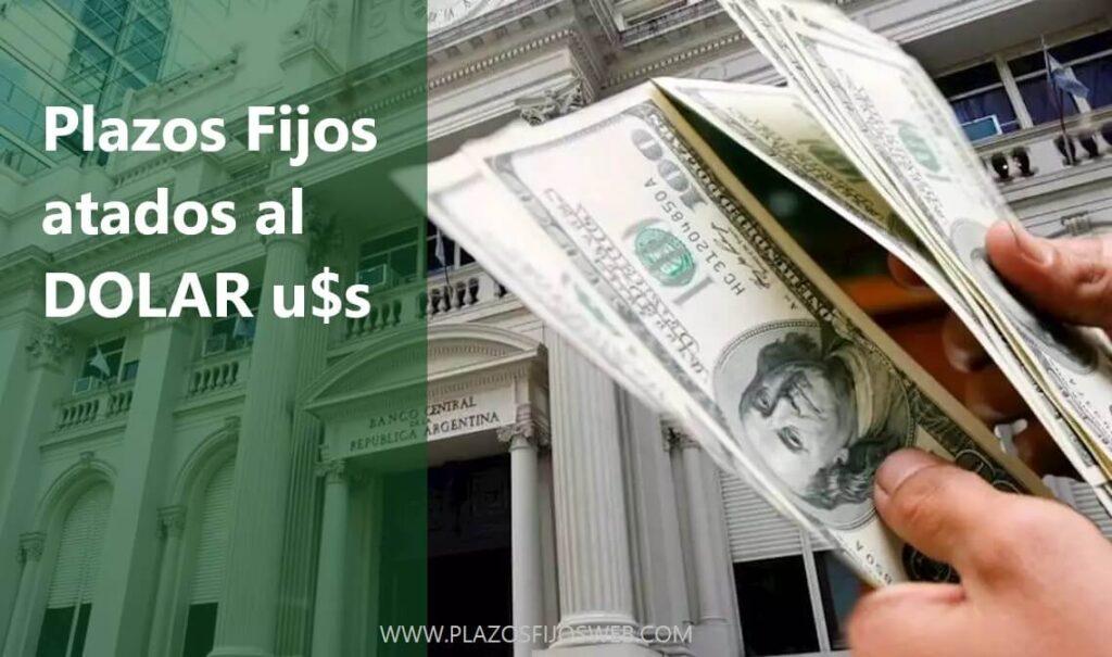 plazos fijos atados al dolar