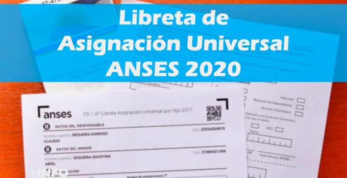 Libreta Escolar AUH 2020