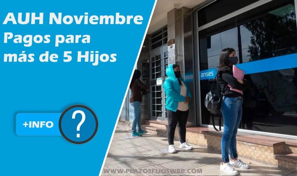 auh noviembre nuevos beneficiarios
