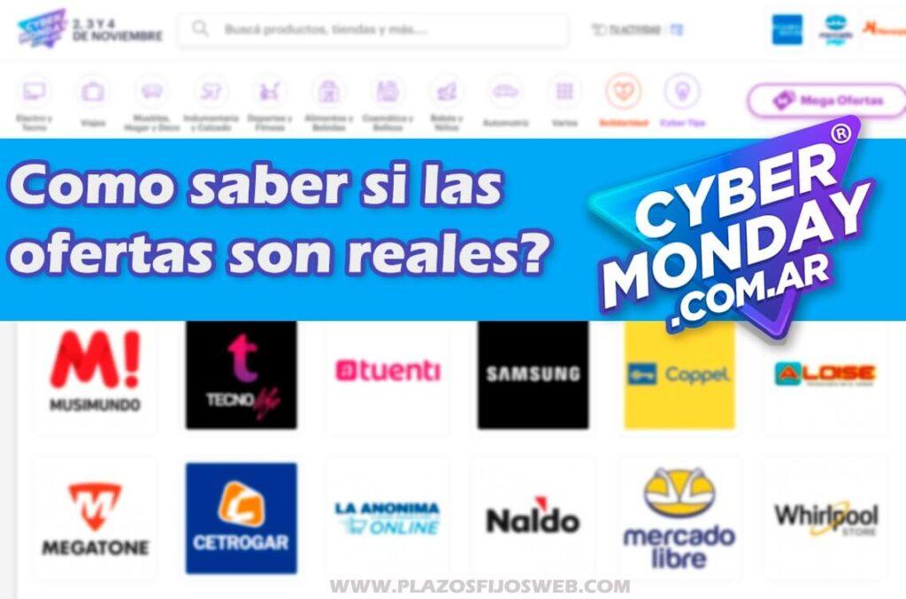ciber monday 2020 ofertas reales
