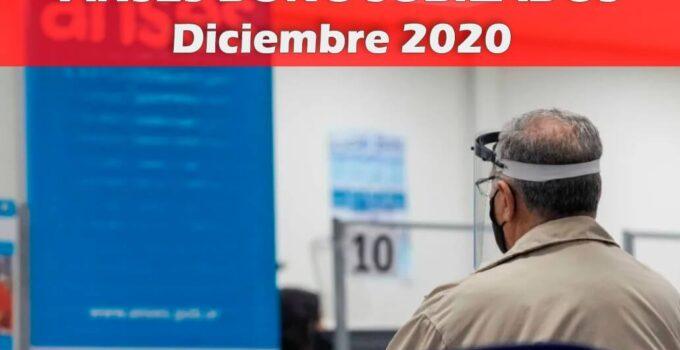 bono jubilados diciembre 2020