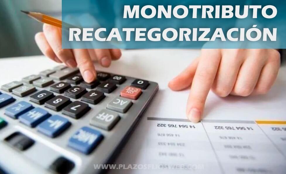monotributo recategorizacion