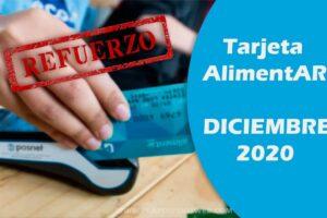 tarjeta alimentar refuerzo diciembre 2020
