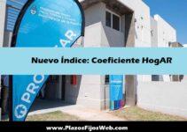 Anuncio nuevo Coeficiente Hogar