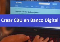 Crear CBU en banco digital
