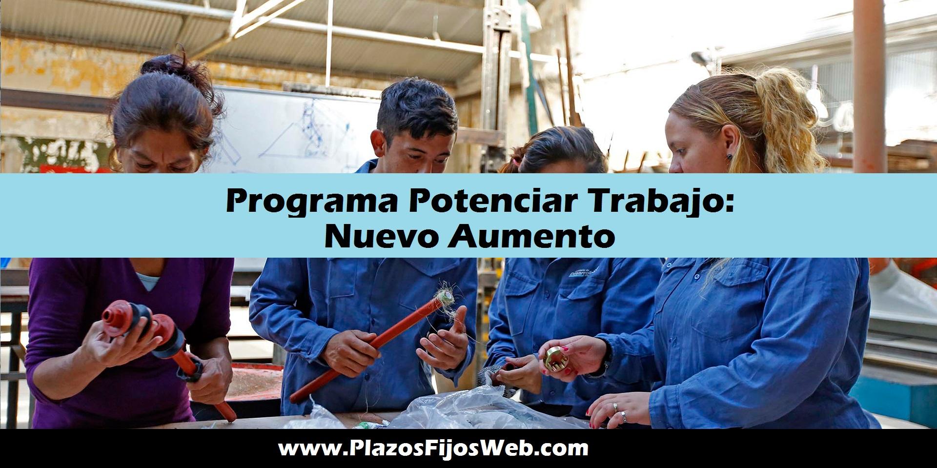 Programa Potenciar Trabajo Inscribirse